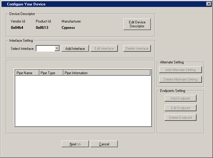 13 4 WinDriver USB Device Development Process
